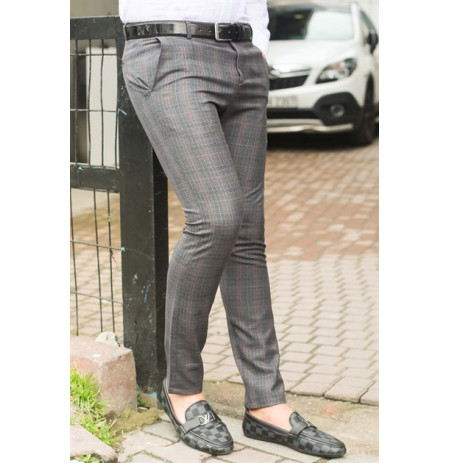 Pantallona Slim Fit Madmext