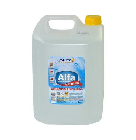 Uje i distiluar ALFA 4 Lt