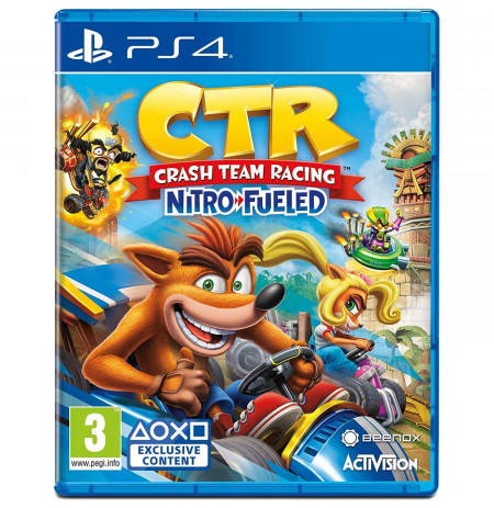 Loje Ps4 Crash Team Racing Nitro-Fueled