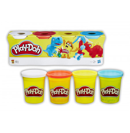 Set palstelina Primare 4CP Play-Doh