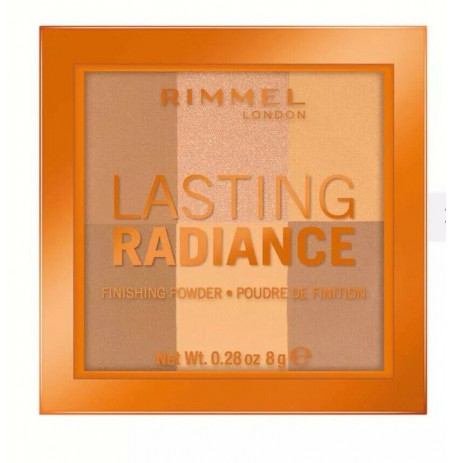 Puder Rimmel London Lasting Radiance 002