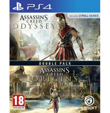 Loje Ps4 Assassin`s Creed Odyssey + Assassin`s Creed Origins