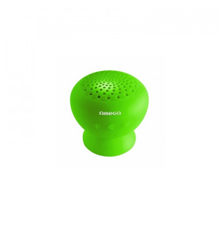 Boks Bluetooth OMEGA V.2.1 Splash Rojo Green