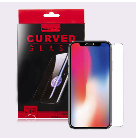 Xham Mbrojtes Full Cover per iPhone XR UV Nano Glass