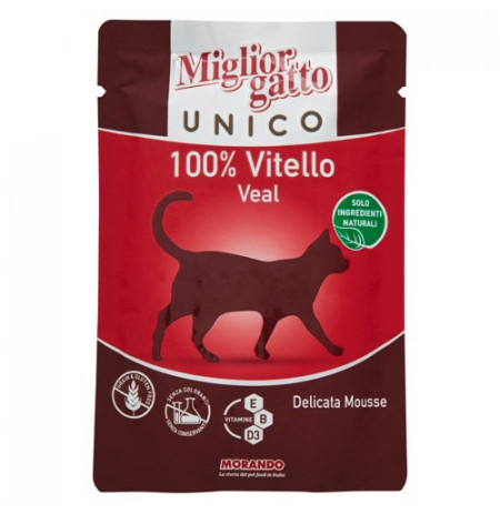 M.Gatto Unico Vitello 85g