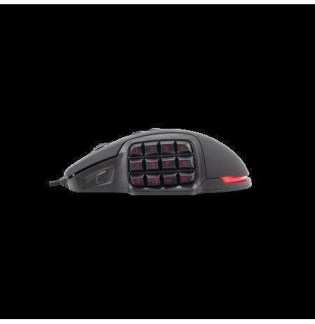 Mouse White Hannibal Black Shark Mouse GM-1602 3200 Dpi