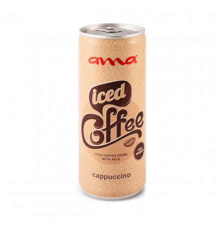 ama® Iced Coffee Cappuccino 0.25l can