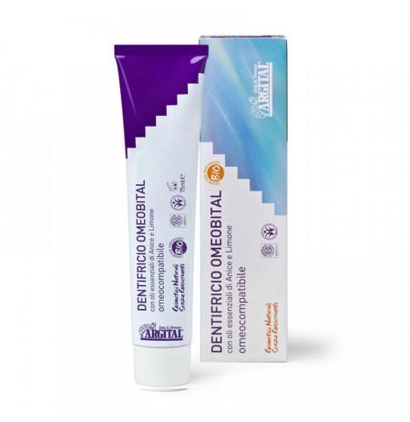 ARGITAL Pastë dhëmbësh homeopatike me limon & argjilë - Herbal Line Albania
