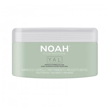 Maskë flokësh natyrale Noah, rigjeneruese dhe tonifikuese, me Acid Hialuronik dhe Vaj Avokado - Herbal Line