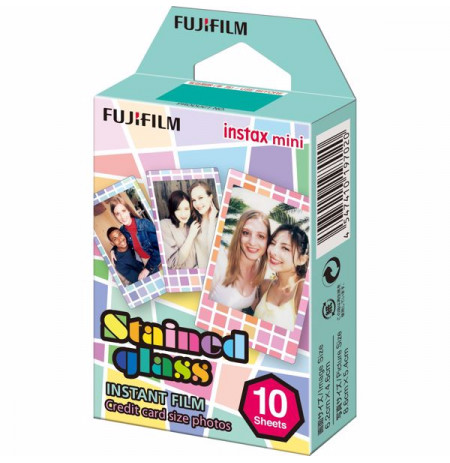 Colorfilm Instax Mini Stained Glass(10/Pk)