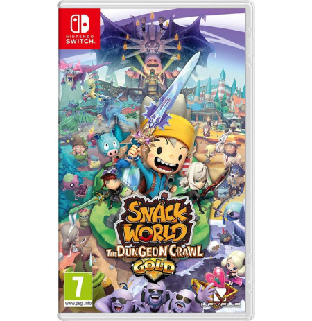 Loje Switch Snack World The Dungeon Crawl Gold Edition