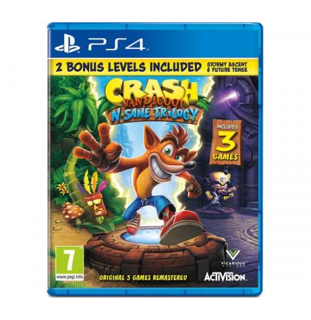 PS4 Crash Bandicoot N.Sane Trilogy 2.0