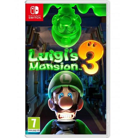 Loje Switch Luigi's Mansion 3