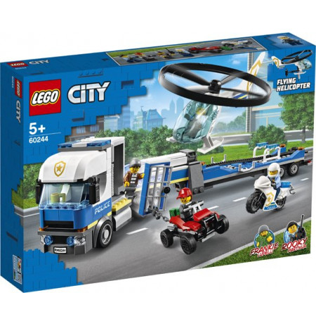Loje Lego City Police Helicopter Transport 60244