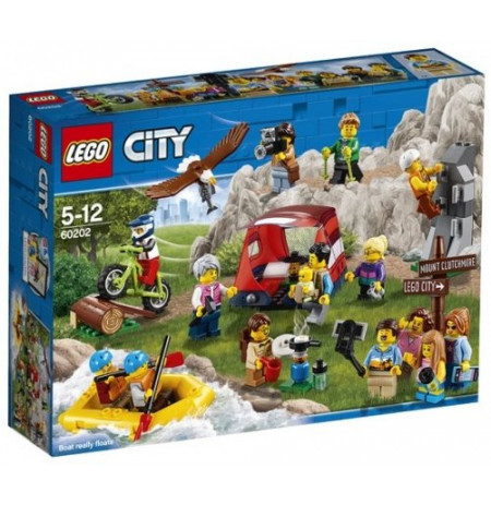 Lego City People Pack-Outdoor Adventures 60202