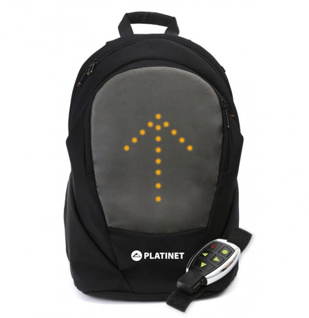 CANTE SHPINE PLATNET BIKER'S BACKPACK  LED LIGHT AND USB